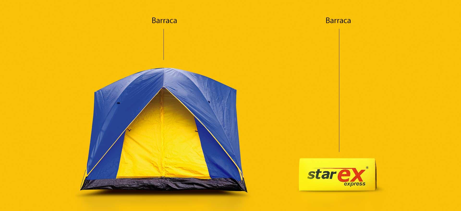 Barraca – Starex 20